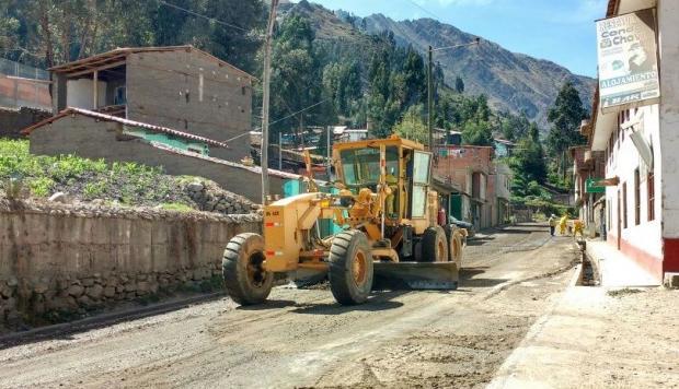 Áncash: Otorgan buena pro para mejorar vías en San Marcos