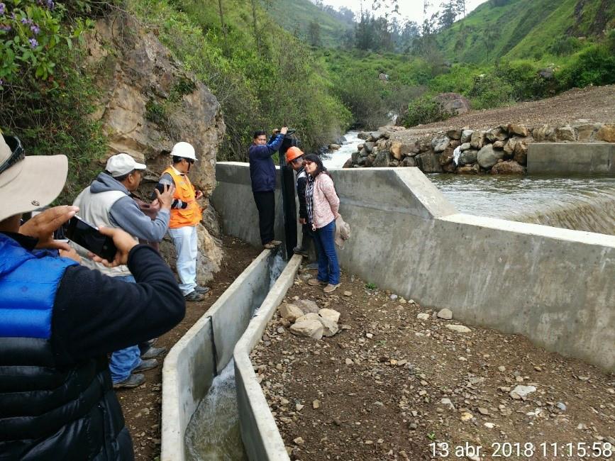 Obras por impuesto permite mejoramiento de un programa de Sierra Azul en Áncash