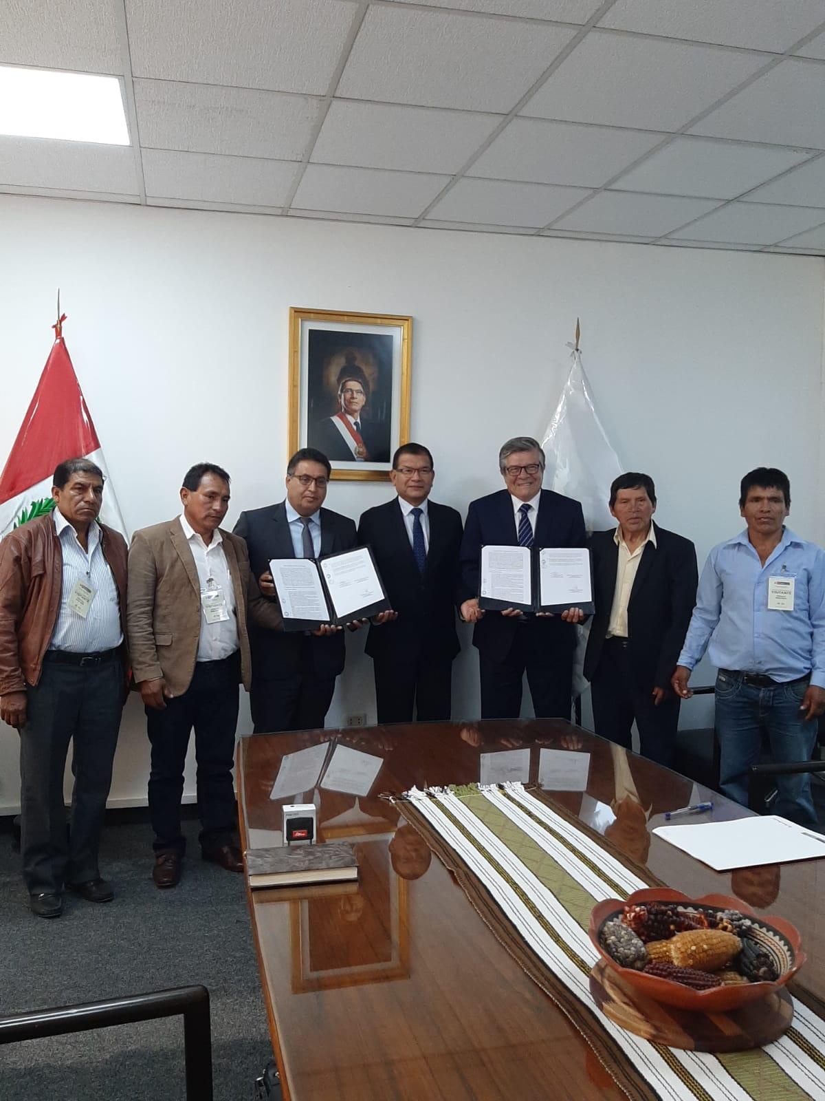 Áncash: Mejorarán infraestructura de riego en el valle Purísima de Bolognesi mediante OxI