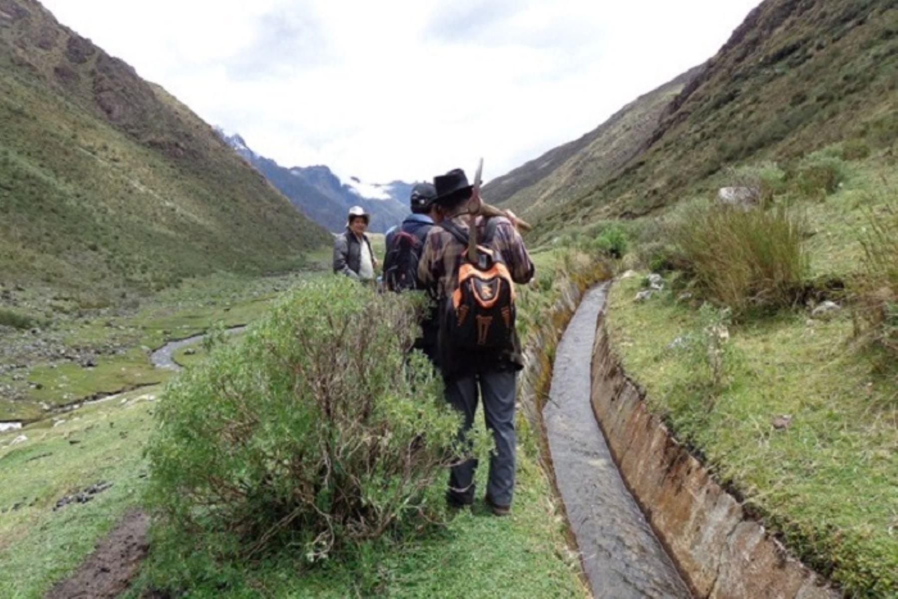 Áncash: nuevo canal de riego incrementará producción de 1,000 agricultores