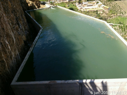 Canal de Riego Chihuip Bajo, Sector Yumpe