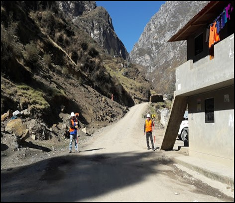 Mejoramiento de la Transitabilidad Peatonal de los Caminos de Herradura a Ishpac y Puitucsho, de la Localidad de Ayash - Distrito de San Marcos, Huari, Ancash