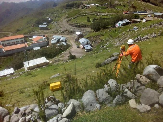 Mantenimiento de la Trocha de Acceso a la Localidad de Atash, Distrito de Huachis, Huari, Ancash.