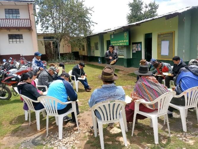 Creación del Sistema de Riego de Yacupashtag – en el Sector Ishanca, Centro Poblado La Libertad, Distrito de Llata, Huamalíes, Huánuco