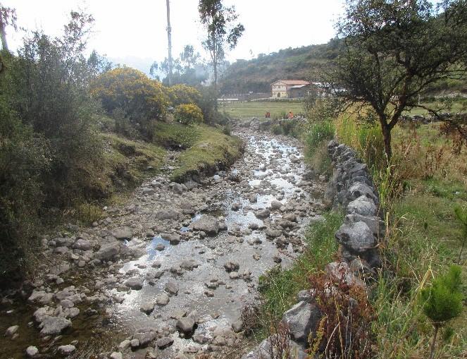 Creación de la Defensa Ribereña en Rio Verdecocha de la Localidad de Huancayoc, Distrito de San Marcos, Huari, Ancash