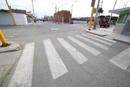 Calles P.V.H.U Zona Centro y Este de Huarmey