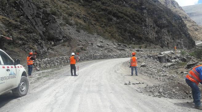 Mantenimiento de la Trocha en la Localidad de Ayash (Tramo Ishpac - Ayash) Distrito de San Marcos, Huari, Ancash