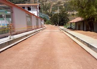 Transitabilidad Vial de la Calle Retamas, Calle Molle, Calle Los Nogales y Vía de Evitamiento - Sanagorán