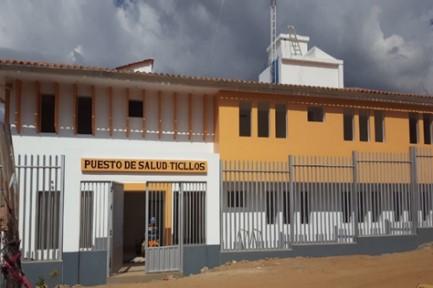 Centro de Salud de Ticllos