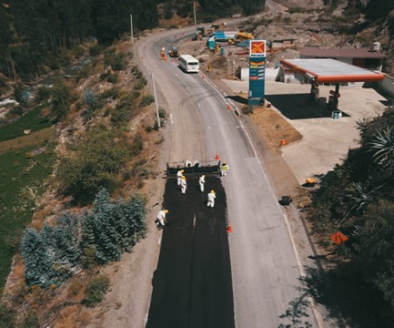 Carretera Túnel Kahuish - San Marcos