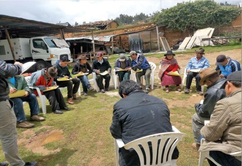 Creación del Sistema de Riego de Yanacancha, Centro Poblado de El Porvenir, Distrito de Llata, Huamalíes, Huánuco