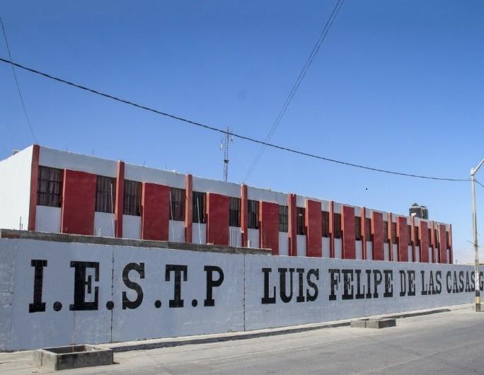 Servicio para el Mejoramiento y ampliación del servicio educativo del IESTP Luis Felipe de las Casas Grieve de Marcona, Provincia de Nazca, Región ICA